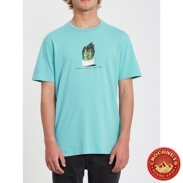 Tee Shirt Volcom Cinder Block Mysto Green 2020