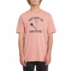 Tee Shirt Volcom Meter Heather Sand Stone 2020 pour , pas cher