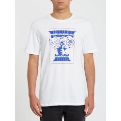 Tee Shirt Volcom Levstone White 2020 pour