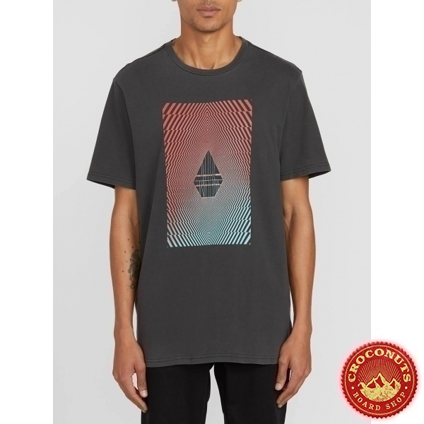 Tee Shirt Volcom Floation Black 2020