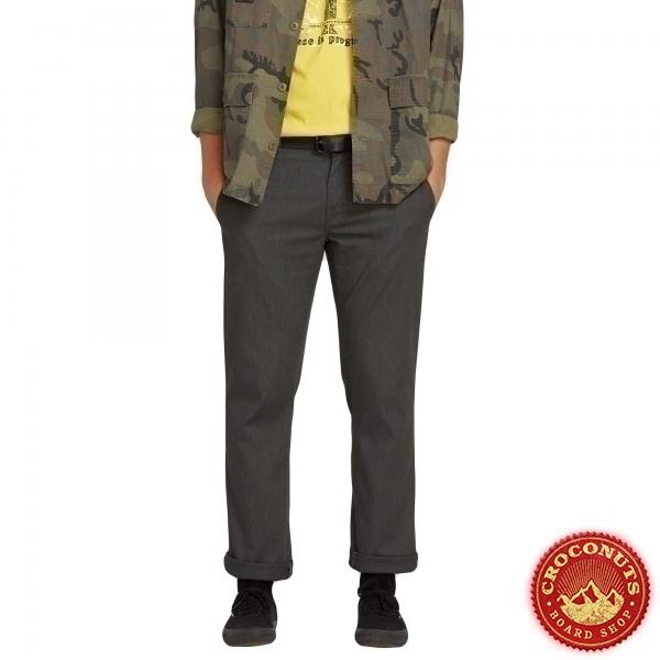Pantalon Chino Volcom Frickin Modern Stretch Charcoal Heather 2020
