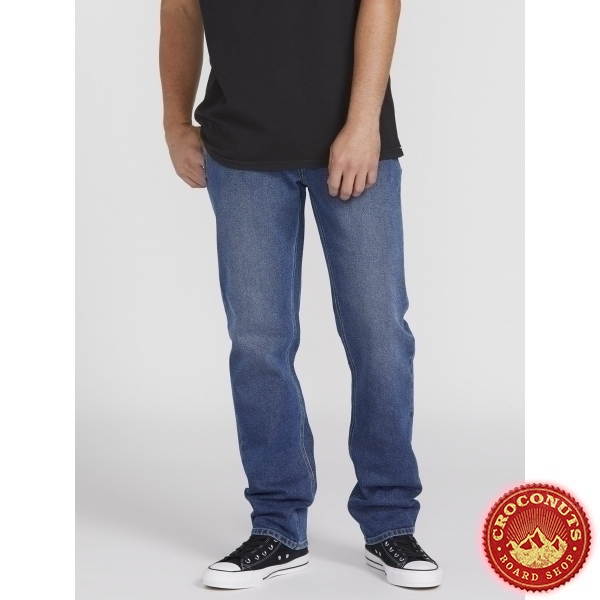 Pantalon Volcom Solver Vintage Pacific Blue 2020