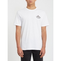 Tee Shirt Volcom Bloom Of Doom White 2020