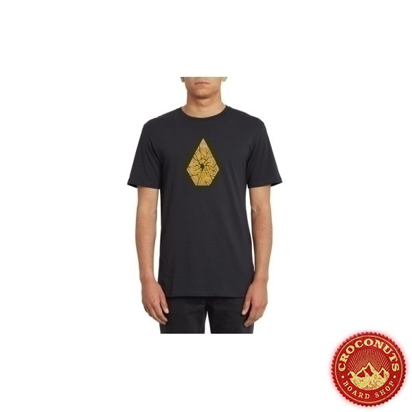 Tee Shirt Volcom Shatter Black 2020
