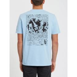 Tee Shirt Volcom F Fleury Mysto Green 2020 pour , pas cher