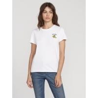 Tee Shirt Volcom Stoked On Stone White 2020