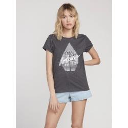 Tee Shirt Volcom Radical Daze Black 2020 pour femme, pas cher