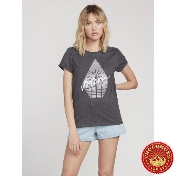 Tee Shirt Volcom Radical Daze Black 2020