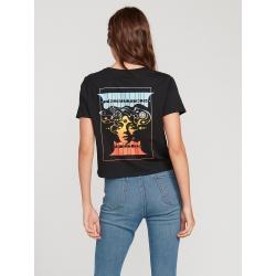 Tee Shirt Volcom Levstone Black 2020 pour femme