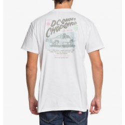 Tee Shirt DC Shoes Chop Shop White 2020 pour , pas cher