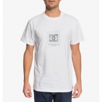 Tee Shirt DC Shoes Chop Shop White 2020