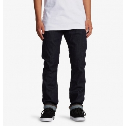Pantalon DC Shoes Worker Straight Indigo Rinse 2021 pour