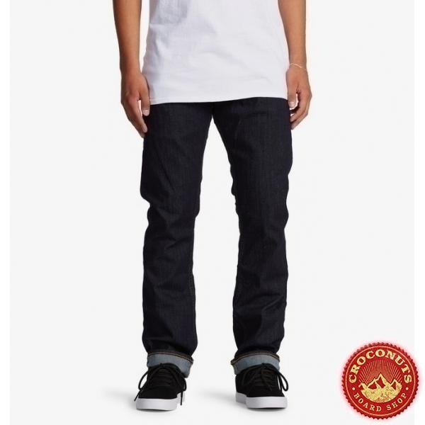 Pantalon DC Shoes Worker Straight Indigo Rinse 2021