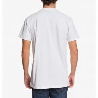 Tee Shirt DC Shoes Color Blocks White 2020