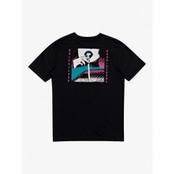 Tee Shirt Quiksilver Wet Sparks Black 2020 pour
