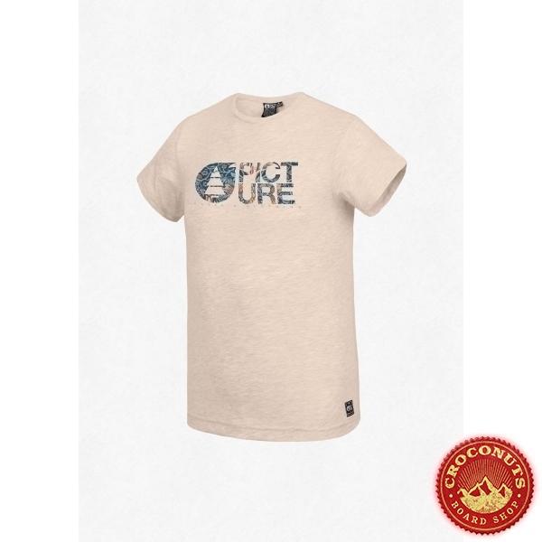 Tee Shirt Picture Basement Horta Beige Melange  2020
