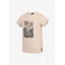 Tee Shirt Picture Paul Beige Melange 2020 pour homme, pas cher