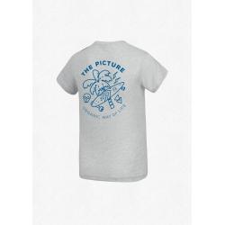 Tee Shirt Picture Venice Pale Blue Light Blue 2020 pour homme, pas cher