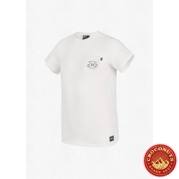 Tee Shirt Picture Wasted Pocket White 2021