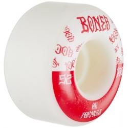 Roues Bones 100's V4 White 52MM 2020 pour homme