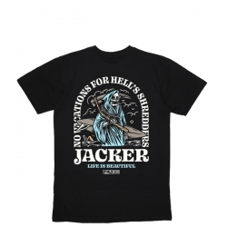 Tee Shirt Jacker No Vacations  Black 2020 pour , pas cher