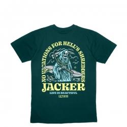 Tee Shirt Jacker No Vacations Dark Green 2020 pour