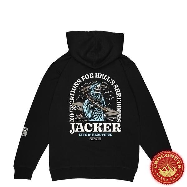 Sweat Jacker No Vacations Black 2020
