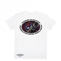 Tee Shirt Jacker Baltimore White 2020 pour