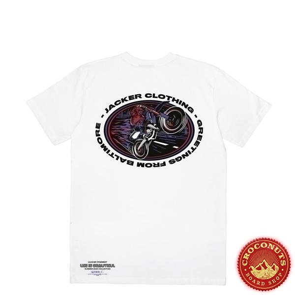 Tee Shirt Jacker Baltimore White 2020