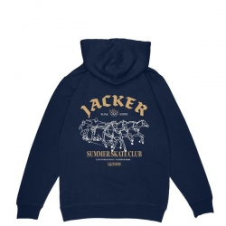 Sweat Jacker Summer Club Navy 2020 pour