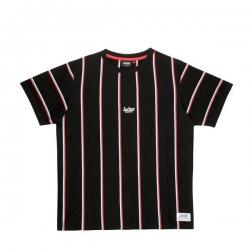 Tee Shirt Jacker Super Stripes Black 2020 pour