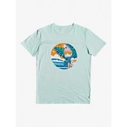 Tee Shirt Quiksilver Above The Sun Beach Glass 2020 pour , pas cher