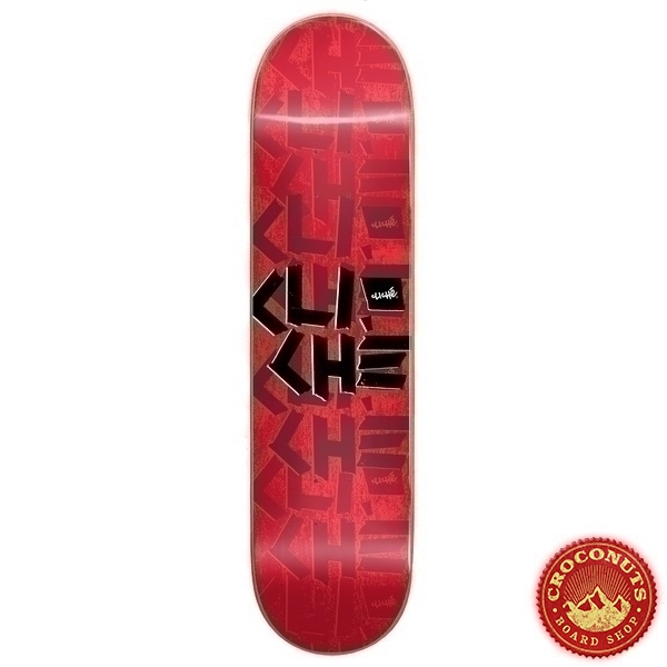 Deck Cliche Scotch Tape RHM Red 8 2020