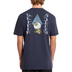 Tee Shirt Volcom Retination LTW SS Navy 2020 pour