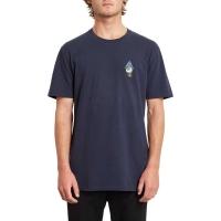 Tee Shirt Volcom Retination LTW SS Navy 2020