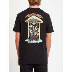 Tee Shirt Volcom Elzo Durt FA SS Black 2020 pour