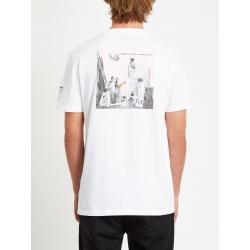Tee Shirt Volcom Schnips Schnips FA SS White 2020 pour