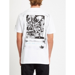 Tee Shirt Volcom Julien Dupont FA SS White 2020 pour