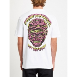 Tee Shirt Volcom Michael Walrave SS White 2020 pour