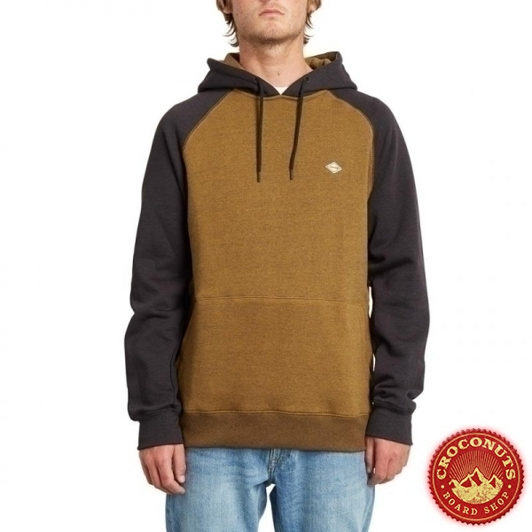 Sweat Volcom Homak PO Golden Brown 2020