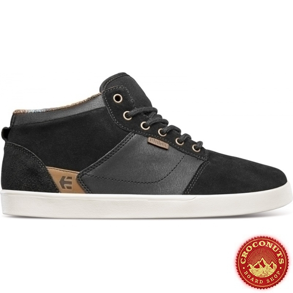 Shoes Etnies Jefferson Mid Black Raw 2020