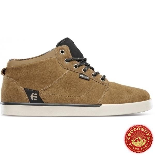 Shoes Etnies Jefferson Mid Brown Black Tan 2020