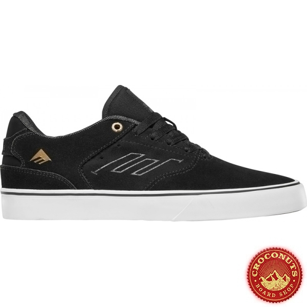 Shoes Emerica The Low Vulc Black  Gold White 2020
