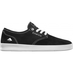 Shoes Emerica The Romero Laced Black White 2020 pour , pas cher