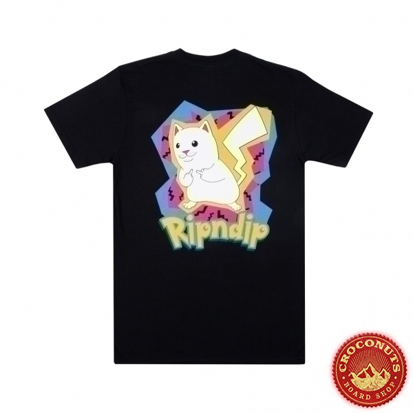 Tee Shirt Ripndip Catch em All Black 2020