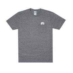 Tee Shirt Ripndip Lord Nermal Pocket Athletic Gray 2020 pour