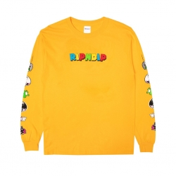 Tee Shirt Ripndip Nermio LS Gold 2020 pour