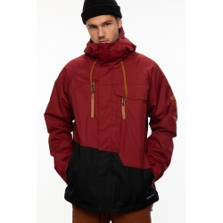Veste 686 Geo Insulated Oxblood Colorblock 2021 pour