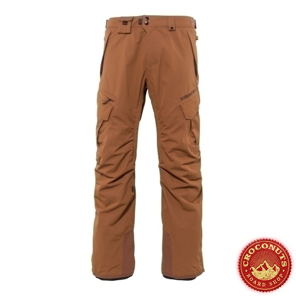 Pantalon 686 Smarty 3 in 1 Cargo Clay 2021