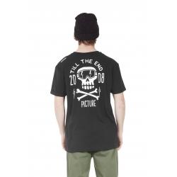Tee Shirt Picture Bones Black 2021 pour homme